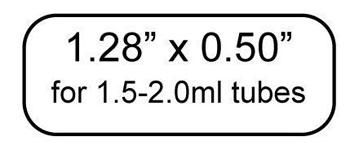 """TT Cryo-Babies 1.28 x 0.50"""", 2,000/roll"""
