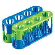 Adapt-a-Rack blue/green, 2/pk