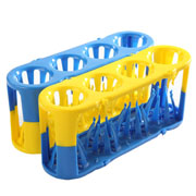 Adapt-a-Rack blue/yellow, 2/pk