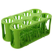 Adapt-a-Rack green/green, 2/pk