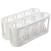 Adapt-a-Rack white/white, 2/pk