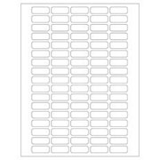 "Cryo-Clear Laser Labels 1.28"" x 0.50"" 1,700/pk"