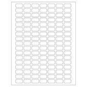 "Cryo-Clear Laser Labels 0.94"" x 0.50"" 2,380/pk"
