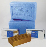 CoolSafe System for 1.5 Cryogenic tubes