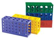 4-Way Tube Rack, assorted  5/pk