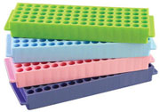 80-Well Reversible Rack, assorted 5/pk