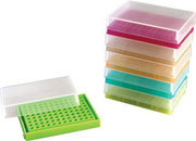 96-Well PCR Tube Storage Box, assorted 5/pk