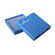 Flat-Pack Freezer Boxes(10) 0.2ml tubes, blue