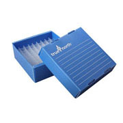 Flat-Pack Freezer Boxes(10), 0.5ml tubes, blue