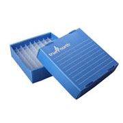 Flat-Pack Freezer Boxes(10), 1.5/2ml tubes, blue