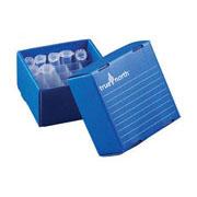Flat-Pack Freezer Boxes(10) 5ml tubes, blue