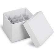 Flat-Pack Freezer Boxes(10) 5ml tubes, natural