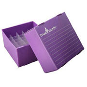 Flat-Pack Freezer Boxes(10) 5ml tubes, purple