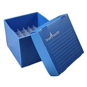 Flat-Pack Freezer Boxes(10) 15ml tubes, blue