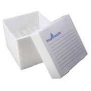 Flat-Pack Freezer Boxes(10) 15ml tubes, natural