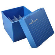 Flat-Pack Freezer Boxes(10) 50ml tubes, blue