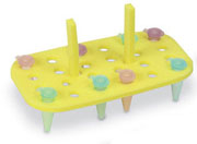 Floating Rack for 1.5 to 2.0ml, yellow  5/pk