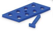 Floating Rack for 15ml, blue  5/pk