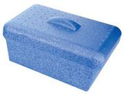 4L GlacierBrand Ice Pan w/Lid, Blue