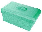4L GlacierBrand Ice Pan w/Lid, Green