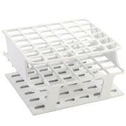 36-Place Half OneRack for 16mm tubes, white