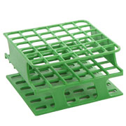 20-Place Half OneRack for 20mm tubes, green