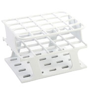 20-Place Half OneRack for 20mm tubes, white