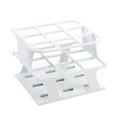 9-Place Half OneRack for 30mm tubes, white