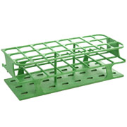 24-Place Full OneRack for 30mm tubes, green