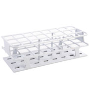 24-Place Full OneRack for 30mm tubes, white