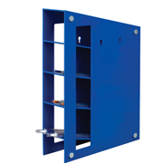 Magnetized Manual Pipet Rack, blue