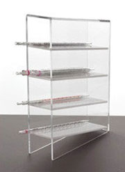 Manual Pipet Rack, clear