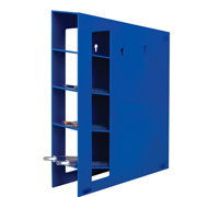 Manual Pipet Rack, blue