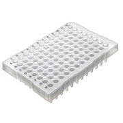 96-well PCR plate, half skirt 10/pk