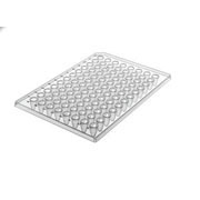 96-well ABI Style PCR plate, half skirt 10/pk