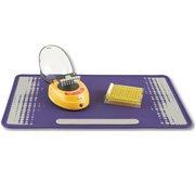 Silicone Lab Mat, Purple/Grey
