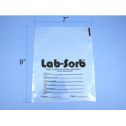 Small LabSorb disposal bags, 50/pk