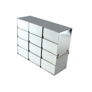 "3 x 4 Freezer Rack, holds (12) 3"" boxes"