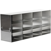 "4 x 3 Freezer Rack, holds (12) 3"" boxes"