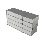 "4 x 4 Freezer Rack, holds (16) 2"" boxes"