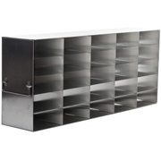 "5 x 5 Freezer Rack, holds (25) 2"" boxes"