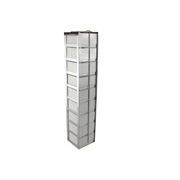 "1 x 9 Freezer Rack, holds (9) 3"" boxes"