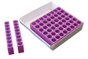 TracRack for 1.5/2.0ml tubes, purple