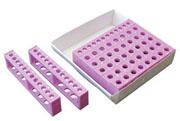 TracRack for 0.2/0.5ml tubes, lt. purple