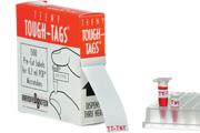"Teeny Tough-Tags 0.81 x 0.28""  1,500/roll"
