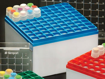 81-Place large CryoStore box, green 10/case