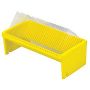 XL Wash-N-Dry Coverslip Rack, yellow