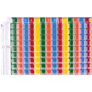 Multi-colored 384 Well Orienter, 2/pk