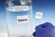 "TT Xylene Tags 0.875 x 0.875""  1,000/roll"