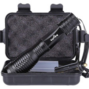 LED Tactical Flashlight Free with $150 order